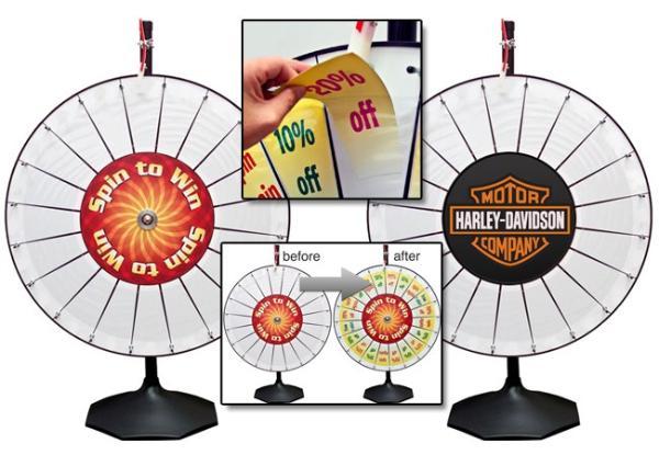 prize wheel. Black Bedroom Furniture Sets. Home Design Ideas